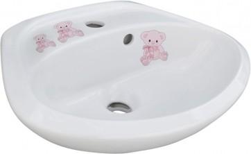 Lavabo infanzia orsetta bianco