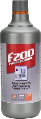 """Trattamento anticalcare cassette wc """"f200"""" 1 lt"""