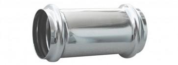 Giunzione per tubi in ottone con 2 o-ring diam. mm. 30