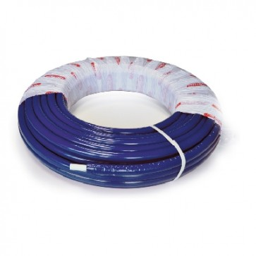 Tubo multistrato nicoll system coibentato blu 16 x 2