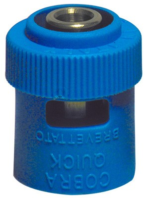 Adattatore blu per innesto tubo multistrato *brevettato* 1/2 x 16