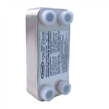 """Scambiatore di calore a piastre saldobrasato (-10°/+90°) 40 piastre - 3/4"""""""