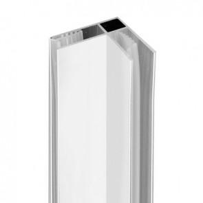 Profilo per connessione ad angolo per walk-in essential h 190 cm