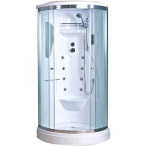 Box doccia ad angolo modello kilimangiaro con idromassaggio mm 900 x 900 x h2150