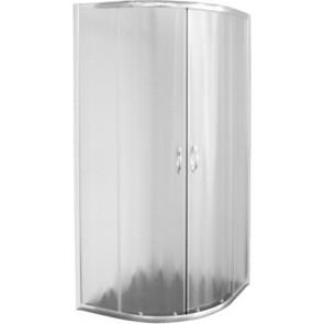Box doccia circolare cristallo opaco 4 mm serie quattro cm 77 - 79