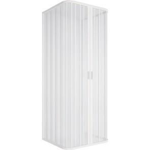 Box doccia 3l soffietto riducibile 90-70 apertura centrale lux cm 90-90-90