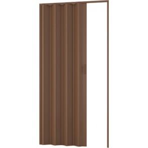 Porta d'arredo per interno a soffietto noce cm 83 x 214