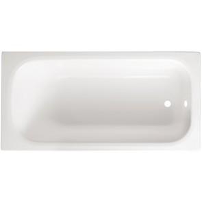Guscio vasca rettangolare bianca mod. zaffiro cm 140 x 70 s/pannello