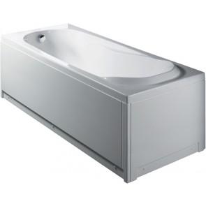 Guscio vasca rettangolare mod. shiro con pannelli cm 180 x 80