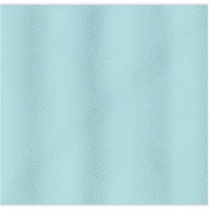 Tenda per doccia 1 lato cm 120 x 200 mod. verde acqua