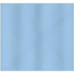 Tenda per doccia 2 lati cm 180 x 200 mod. celeste