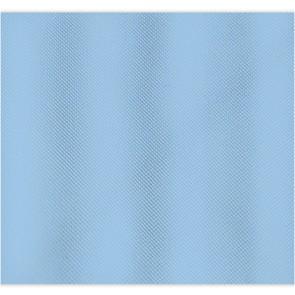 Tenda per doccia 3 lati - vasca 2 lati cm 240 x 200 mod. celeste