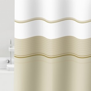 Tenda per doccia mod. Vaniglia cm 120x200