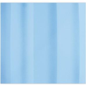 Tenda per doccia 2 lati in tessuto cm 180 x 200 mod. celeste