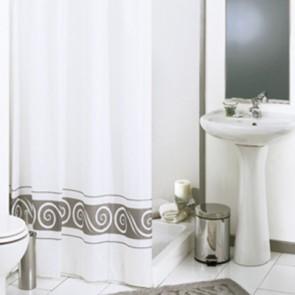 Tenda per doccia in tessuto mod. ricciolo cm 240x200