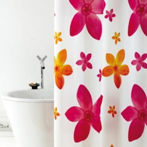 Tenda per doccia in tessuto mod. dafne cm 180x200