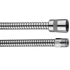 Flex in ottone doppia aggraffatura dm 12 con tubo retinato cm 150