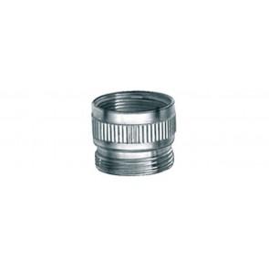 Riduzione in ottone h 10 mm f1/2 x m22x1 cromo
