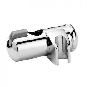 Supporto scorrevole in abs cromato per asta d. 25 mm cromo