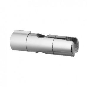 Supporto scorrevole in abs cromato per asta d. 28 mm cromo