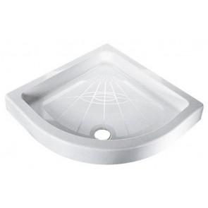 Piatto doccia angolare iniezione bianco cm 80 x 80