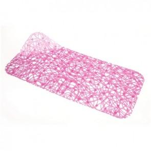Tappeto antiscivolo per vasca mod. lux cm 72x36 cristallo