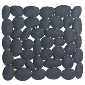 Tappeto antiscivolo mod. ciottoli cm 54 x 54 grigio