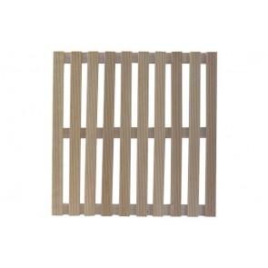 Pedana doccia in legno quadrata 60 x 60
