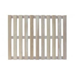 Pedana doccia in legno rettangolare 52 x 70