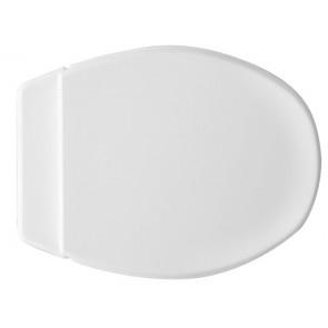 Copriwater duroplast modello panchetta bianco
