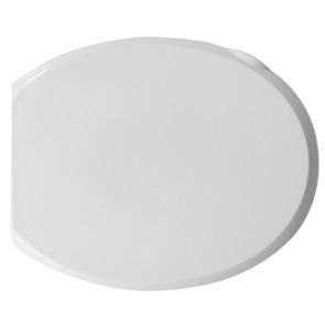 Copriwater universale tecnoplast atlantico cerniere pvc bianco