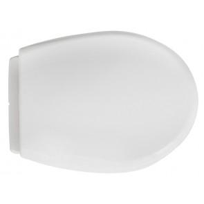 Sedile universale per wc modello vulcano bianco