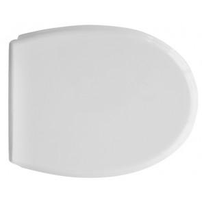 Sedile wc per azzurra vaso elios sospeso bianco