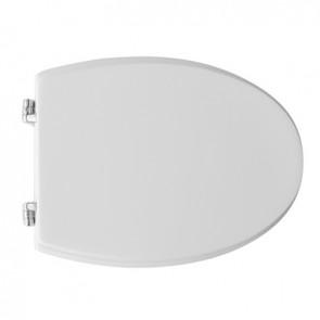 Sedile wc per ideal standard vaso tonda Bianco