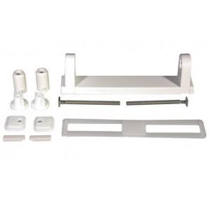 Set ricambio per sedile wc bi-componente bianco