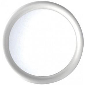Specchio rotondo serie imma bianco