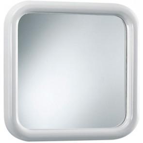 Specchio quadro modello prestige bianco cm 51x51