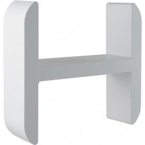 """Mensola lettering organizer """"h"""" liquirizia"""