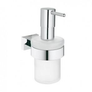 Dispenser con supporto essentials cube Cromo