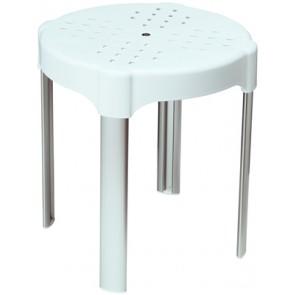 Sgabello comfort bianco metaform diam. 35 x h 40