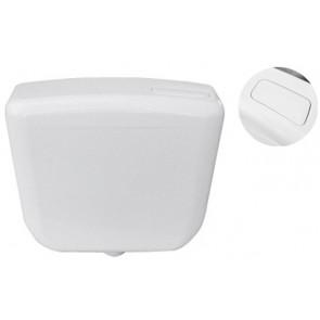 Cassetta di scarico dianflex a zaino con rivestimento interno bianca
