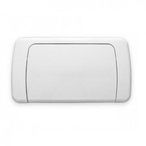 Placca per cassetta idrobox mono bianco Cromo