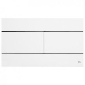 Placca slim dual Bianco