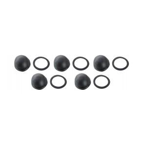 Confezione (pz.5) guarnizione semisfera e antifrizione per pneu