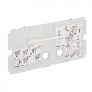 Placca di protezione per cassette twinline -
