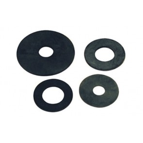 Guarnizioni fondo per cassetta in gomma 50x18x3 mm unica