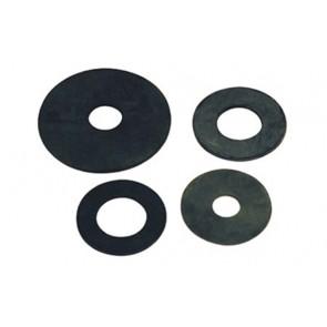 Guarnizione fondo per cassetta in gomma mm 2 45 x 26 x 2 mm