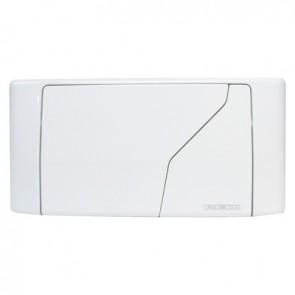 Placca per cassetta redi doppio scarico bianco