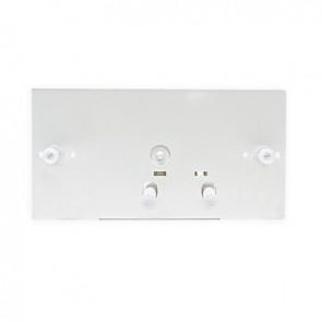 Sottoplacca con leverismo per dual flush -