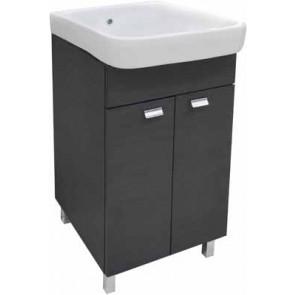 Mobile lavatoio da interno 2 ante soft closing con top in ceramica 47 x 60